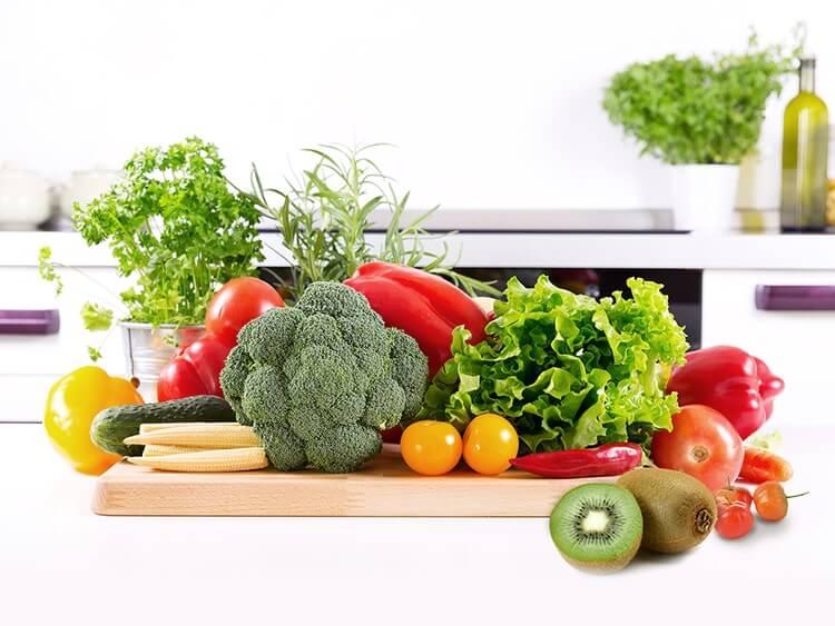 美白によい食べ物イメージ