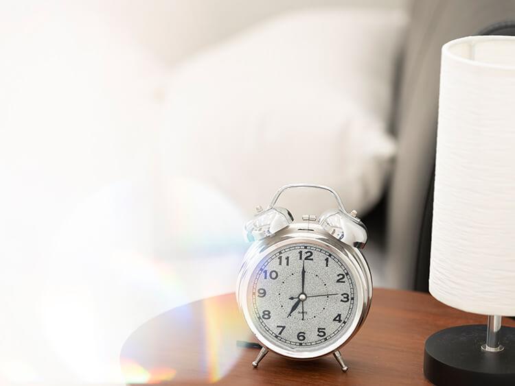 睡眠時間のイメージ