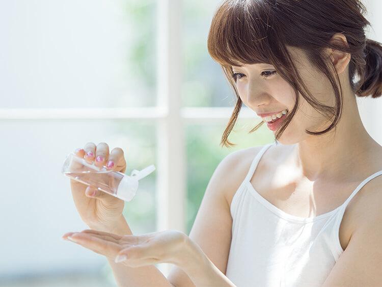 保湿化粧品使用上の注意点
