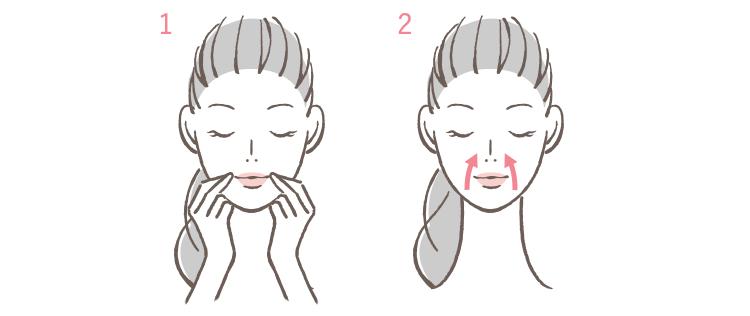 顔のリフトアップに効果的なマッサージ方法