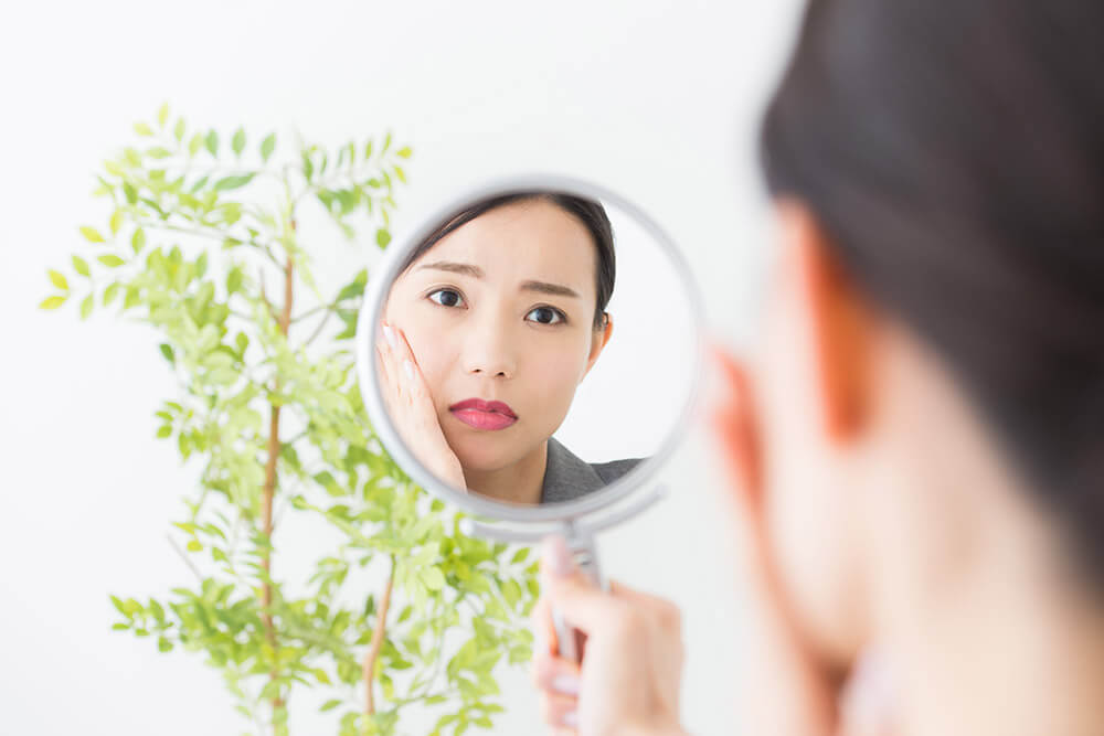 洗顔方法と生活習慣を見直し